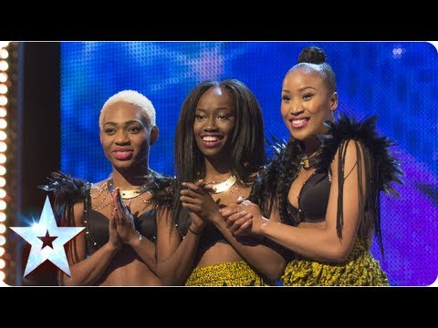 Booty-tastic! CEO Dancers shake the BGT stage – Week 2 Auditions | Britain's Got Talent 2013