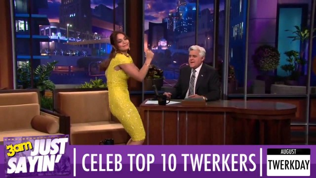 Top 10 celebrity twerking videos