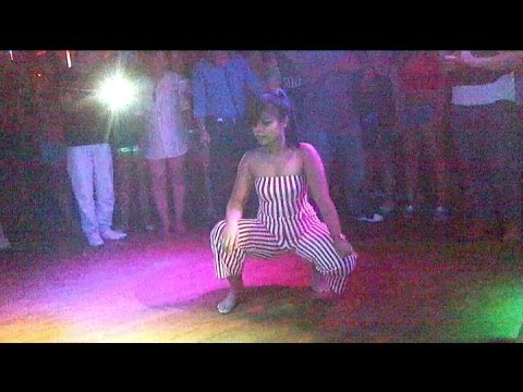 Asian Chicks (Twerking) Booty Shaking in the club part 2