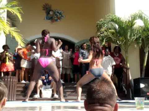 Miss Margaritaville Grand Turk Island 2012!! Turks & Caicos Best Booty Shaking Ever!!