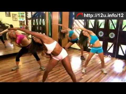 10 Min booty shaking waist workout