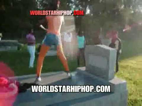 Dead Wrong  Teens Booty Shaking On People's Graves All In The Cemetary!