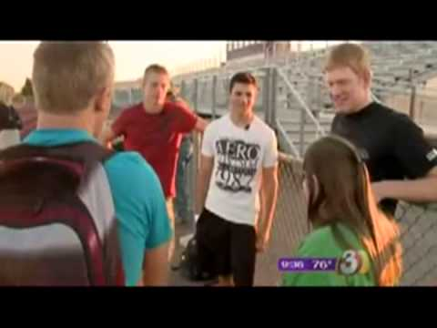 Football Players Protect Special Needs Girl From Bullies