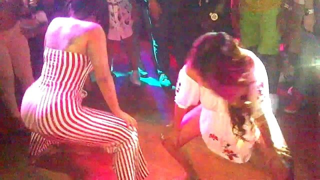 Asian girls twerking (Booty Shaking) in the club Part 1