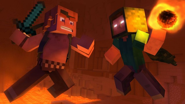 """Take Back the Night"" – A Minecraft Original Music Video"