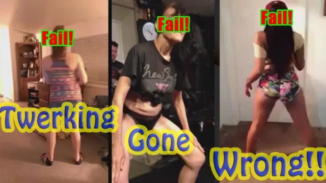 Twerking Gone Horribly Wrong! (Worst Twerk Fails)